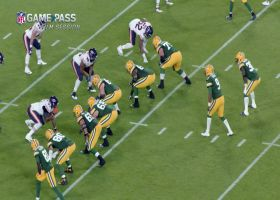 Game Pass Film Session: How Akiem Hicks reads offensive linemen to make plays
