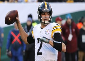 Kinkhabwala: It feels 'suspect' Steelers are all in on Mason Rudolph as backup