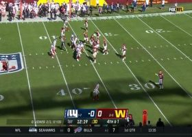 Daron Payne stuffs Dion Lewis on fourth-and-1 to force turnover