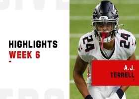 A.J. Terrell's best plays in Falcons' first win of 2020 | Week 6