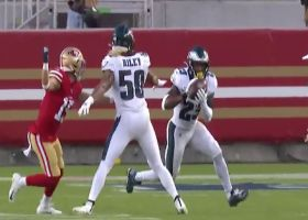 Rodney McLeod secures Eagles' first INT of 2020 on misfire from Mullens