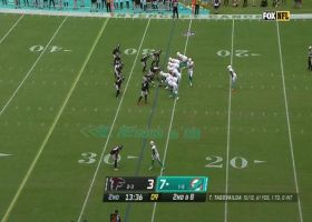 What a move! Tagovailoa jukes past defender for first-down gain