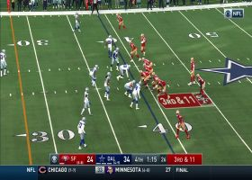 Jerick McKinnon delivers clutch 23-yard gain on third-and-11