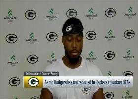 Adrian Amos, Aaron Jones address Rodgers' absence from Packers' voluntary OTAs