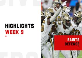 Top plays by the Saints defense in prime time | Week 9