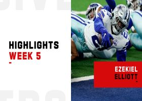 Ezekiel Elliott's biggest plays from 2-TD game | Week 5