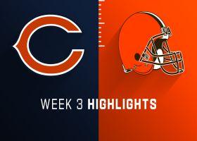 Bears vs. Browns highlights   Week 3