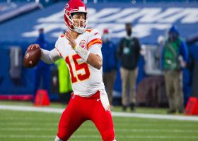 Mahomes delivers CLUTCH laser beam to Pringle for 37 yards