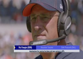 Vic Fangio issues apology after comments about no racism in the NFL