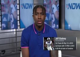 Jeff Gladney explains why he competed at the 2020 combine with torn meniscus