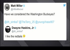 Dwayne Haskins offers suggestion for new team name in D.C.