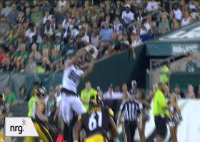 Tyree Jackson gets UP for Joe Flacco's top-shelf throw