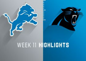 Lions vs. Panthers highlights | Week 11
