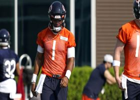 James Jones: After seeing Fields in camp, 'I will not be surprised' if he starts Week 1