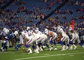 Field-level view of Buffalo Bills running back Christian Wade's amazing 65-yard touchdown run