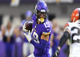 Adam Thielen elevates for critical third-down grab over the middle