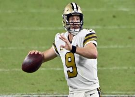 Warner: Drew Brees 'not seeing the field' the way he normally does