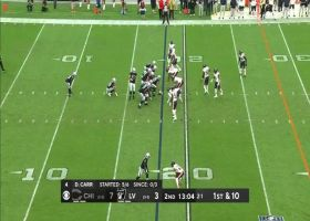 Derek Carr's 29-yard laser perfectly dots Henry Ruggs III