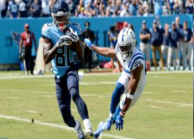 Chester Rogers beats former team for early third-and-goal TD