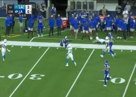 Tutu Atwell turns on the jets for long catch and run