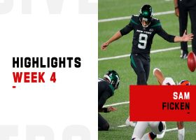 Every made field goal by Sam Ficken on 'TNF' | Week 4