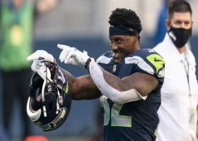 Brian Baldinger reacts to Seahawks re-signing Chris Carson in FA