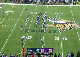 Harrison Smith disrupts fourth-down pass in end zone