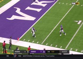 Raiders' flea-flicker pays off in big way with Carr TD toss to wide open Nelson