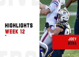 Every big defensive play by Joey Bosa | Week 12