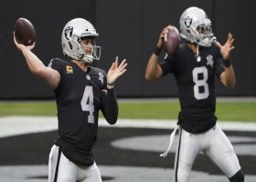 Rapoport: Raiders getting trade calls for Derek Carr, Marcus Mariota