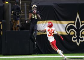 Lil'Jordan Humphrey's first NFL catch goes for big TD