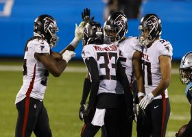 Blidi Wreh-Wilson takes flight for clutch Falcons INT
