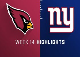 Cardinals vs. Giants highlights | Week 14