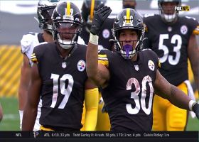 James Conner finds wide-open lane for 25-yard pickup