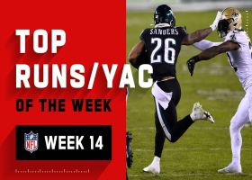 Top runs and YAC of the week | Week 14
