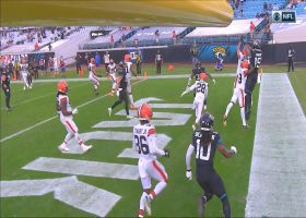 Browns' defense comes away with clutch stop on Jags' two-point try