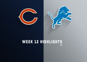 Bears vs. Lions highlights | Week 12