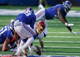 Mr. Irrelevant Tae Crowder gives Giants late lead on scoop-and-score TD