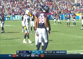 Watson rips TD throw down the seam to Atkins to give Texans the lead