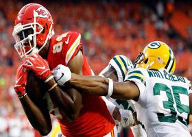 Demetrius Harris makes spinning grab for touchdown