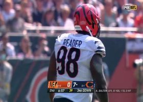 D.J. Reader blasts through middle to sack Andy Dalton