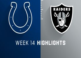 Colts vs. Raiders highlights | Week 14