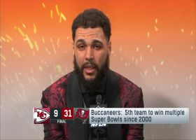 Mike Evans describes 'unbelievable feeling' after Bucs' win in Super Bowl LV