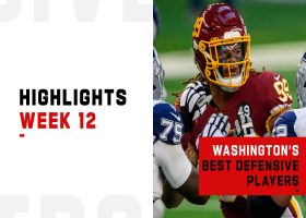 Washington's best defensive plays from Thanksgiving win | Week 12