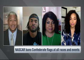Fred Warner, April Ryan: Significance of NASCAR banning Confederate flag