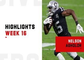 Every catch by Nelson Agholor from 155-yard night | Week 16