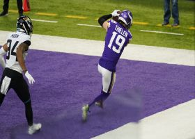 Cousins shows great touch on TD to toe-tapping Thielen