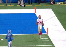 Eli Mitchell leaves Lions in the dust on 38-yard TD run