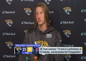 Trevor Lawrence on loss vs. Texans: I made 'some bad decisions that I'm disappointed in'