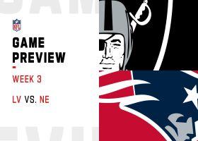 Raiders vs. Patriots preview | Week 3